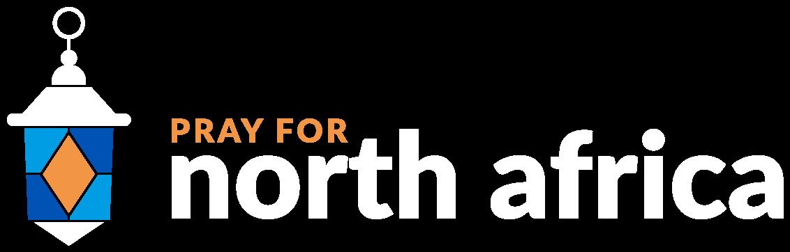 Pray for North Africa Logo White